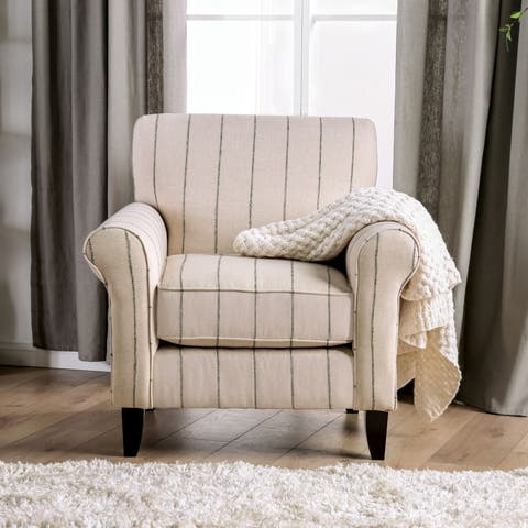 Accent Chairs Upholstered Striped Shop Online At Overstock
