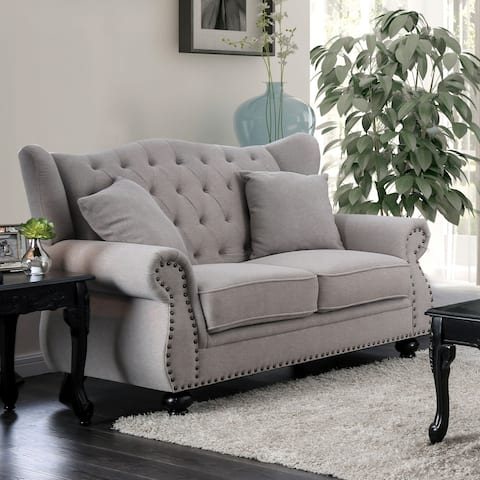 Buy Grey, 2 Loveseats Online at Overstock | Our Best Living Room ...