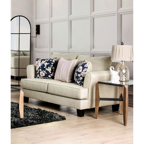 The Gray Barn Bangle Bend Transitional T-cushion Loveseat