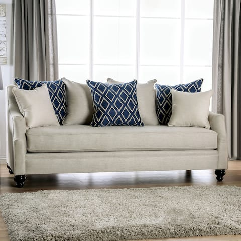 Copper Grove Vani Transitional Sofa