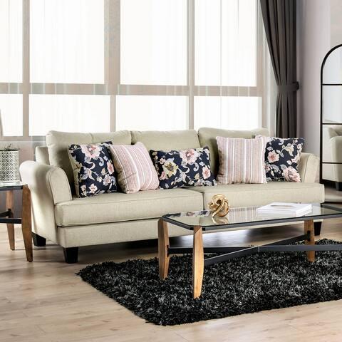 The Gray Barn Bangle Bend Transitional T-Cushion Sofa