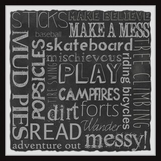 Marmont Hill - Handmade Great Adventure Board Framed Print