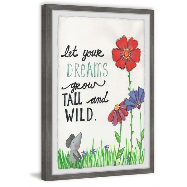 Marmont Hill - Handmade Tall and Wild Framed Print