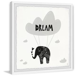 Marmont Hill - Handmade Elephants Dream Framed Print