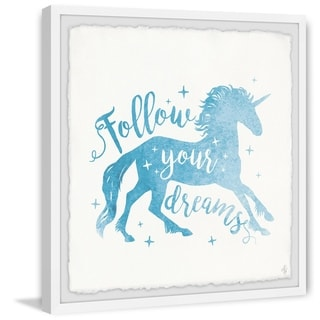 Marmont Hill - Handmade Follow Your Dreams III Framed Print