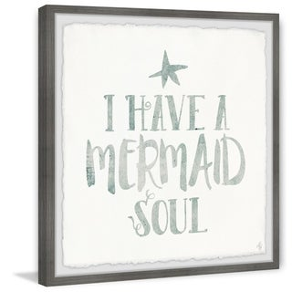 Marmont Hill - Handmade Mermaid Soul Framed Print