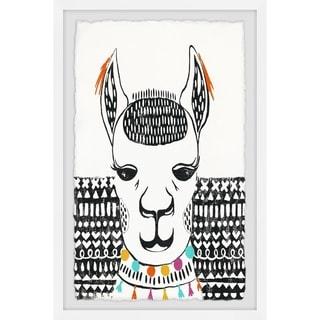 Marmont Hill - Handmade Play with Sphynx Framed Print