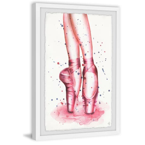 Marmont Hill - Handmade Dancing Ballet Shoes Framed Print