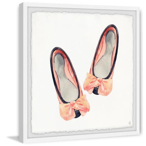 Marmont Hill - Handmade Little Bow Flats Framed Print