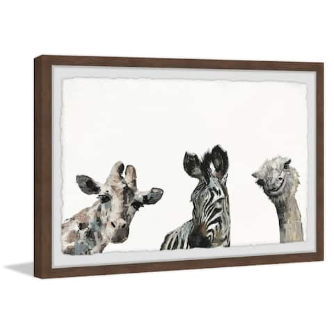 Marmont Hill - Handmade What a Trio Framed Print
