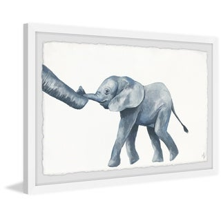 Marmont Hill - Handmade Elephant Trunks Framed Print