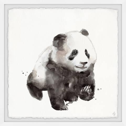 Marmont Hill - Handmade Dreamy Panda Framed Print