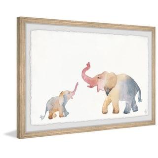 Marmont Hill - Handmade Elephant Playtime Framed Print