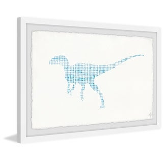 Marmont Hill - Handmade Patterned Dino Framed Print