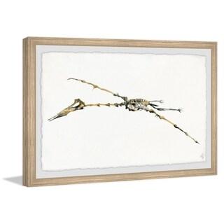 Marmont Hill - Handmade Pterodactyl Skeleton Framed Print