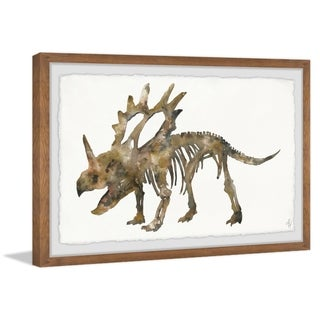 Marmont Hill - Handmade Styracosaurus Skeleton Framed Print