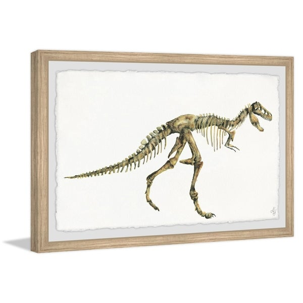 Marmont Hill - Handmade Big Dino Skeleton Framed Print