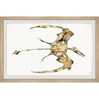 Marmont Hill - Handmade Pterodactyl Fossil Framed Print