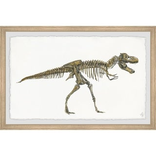 Marmont Hill - Handmade Tyrannosaurus Skeleton Framed Print