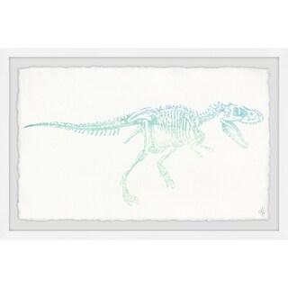 Marmont Hill - Handmade Ombre Skeleton Framed Print