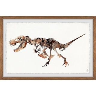 Marmont Hill - Handmade Big T-Rex Skeleton Framed Print
