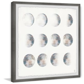 Marmont Hill - Handmade Moon Phase Framed Print
