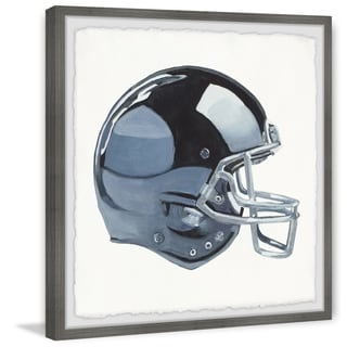 Marmont Hill - Handmade Football Helmet Framed Print
