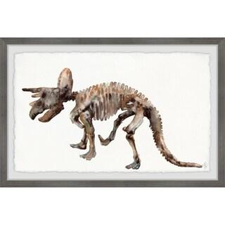 Marmont Hill - Handmade Triceratops Skeleton Framed Print