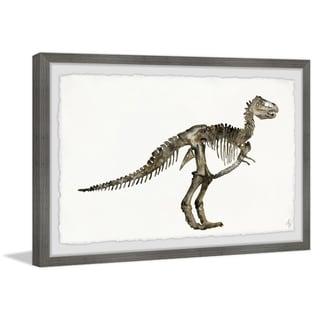 Marmont Hill - Handmade Dinosaur Skeleton Framed Print