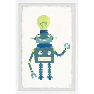 Marmont Hill - Handmade Smart Robot Framed Print