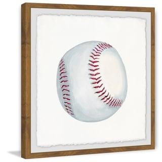 Marmont Hill - Handmade Lets Play Baseball Framed Print