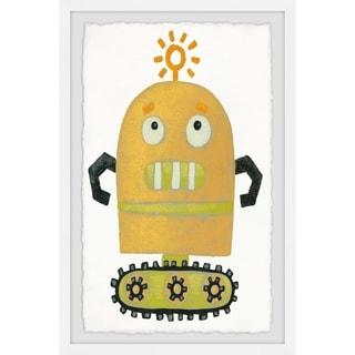 Marmont Hill - Handmade Thinker Robot Framed Print