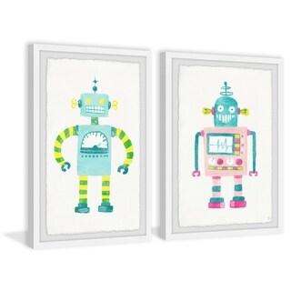 Marmont Hill - Handmade Robot Diptych