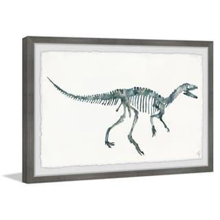 Marmont Hill - Handmade Bluish Gray Skeleton Framed Print