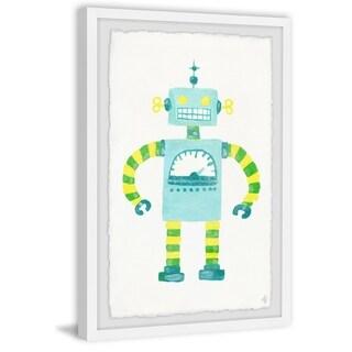 Marmont Hill - Handmade Eccentric Robot Framed Print