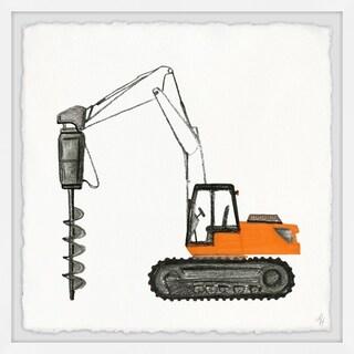 Marmont Hill - Handmade Drilling Truck Framed Print