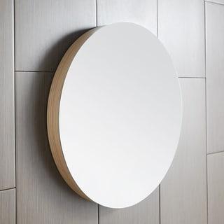 Solace Mirror in Sunrise Oak