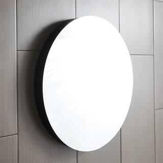 Solace Mirror in Midnight Oak