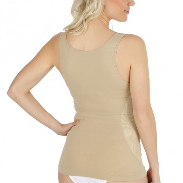 Shopping Inc Body Shapewear Compression Top 1 Beige 1 Black
