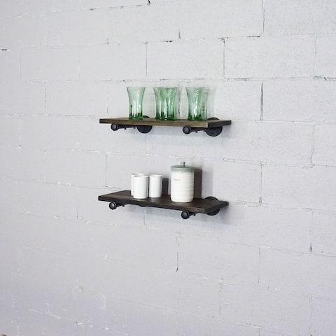 Carbon Loft Pepin Wall Shelf (Set of 2)