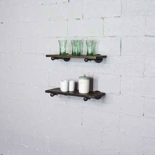 Link to Carbon Loft Pepin Wall Shelf (Set of 2) Similar Items in Accent Pieces