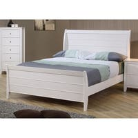Waverly White Sleigh Bed