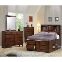 Copper Grove Decines Bookcase Storage Bed