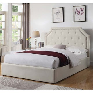 Copper Grove Romainville Upholstered Bed with Hydraulic Lift Storage