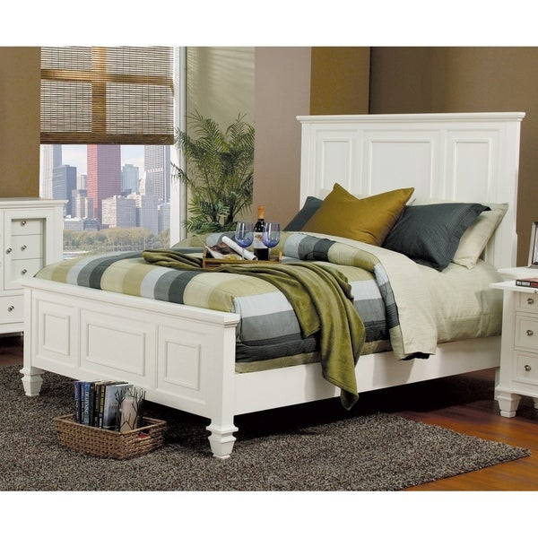 Copper Grove Aurillac Coastal Wood Panel Bed. Opens flyout.