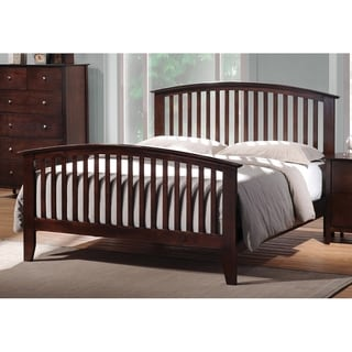 Nebraska Cappuccino Wood Bed