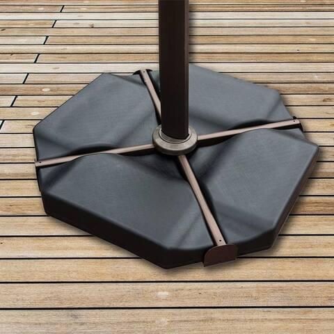 Acapulco 260-lb Plastic Cantilever Umbrella Base Plate Set by Havenside Home