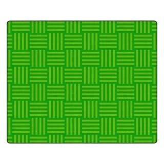 "Flagship Carpet Kids Nylon Lime Hashtag Tone On Tone Classroom Seating Rug, Seats 35 - 10'9"" x 13'2"" - 10'9"" x 13'2"""