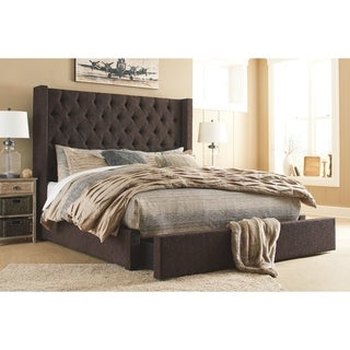 Copper Grove Yasyn Upholstered Bed with Storage