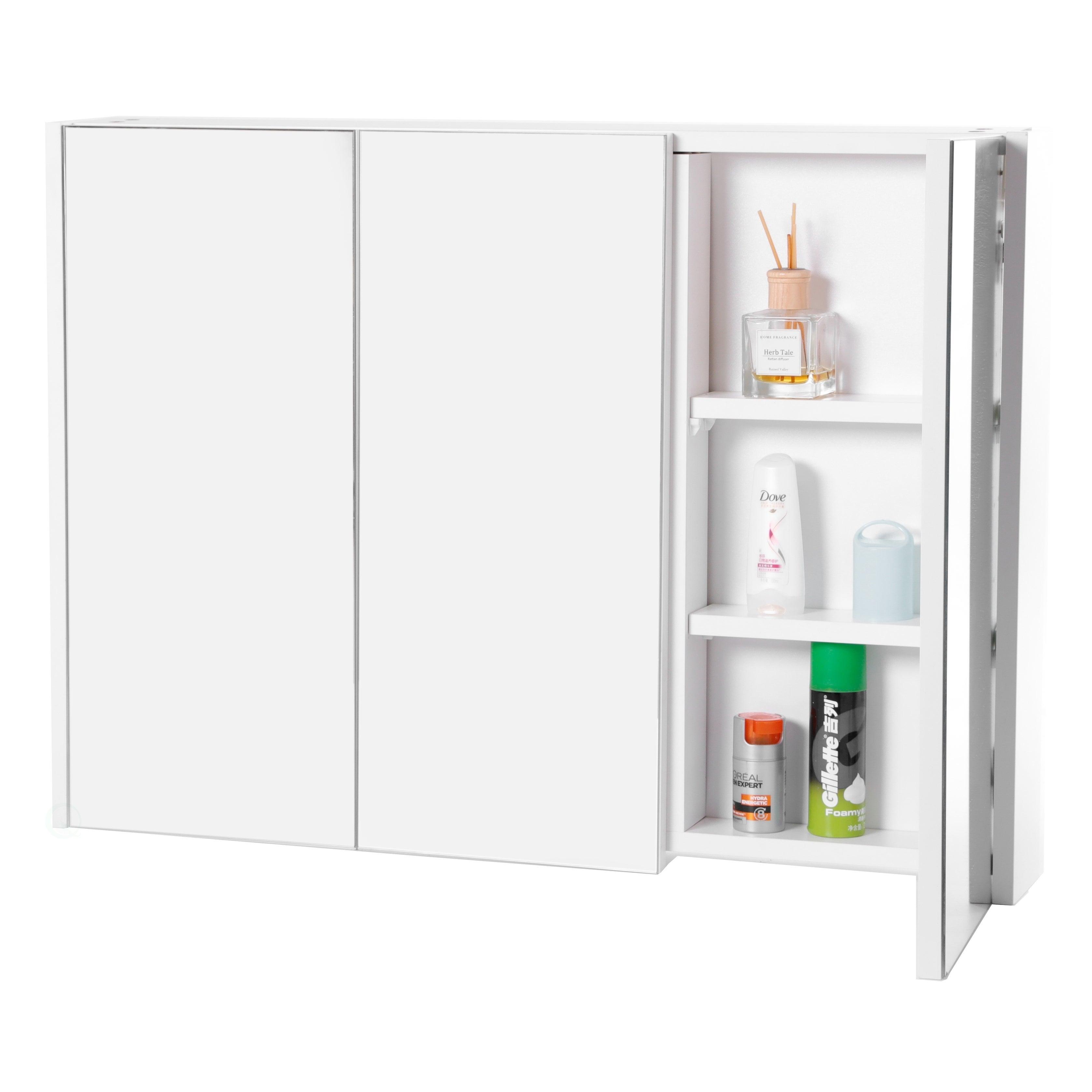 3 Shelves Wall Mounted Bathroom